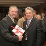 mit Michael Burkard (Stadtverbandspräsident a.D. -  Geschäftsführer Saartoto)
